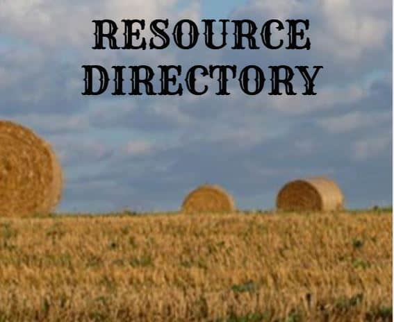 RESOURCE DIRECTORY
